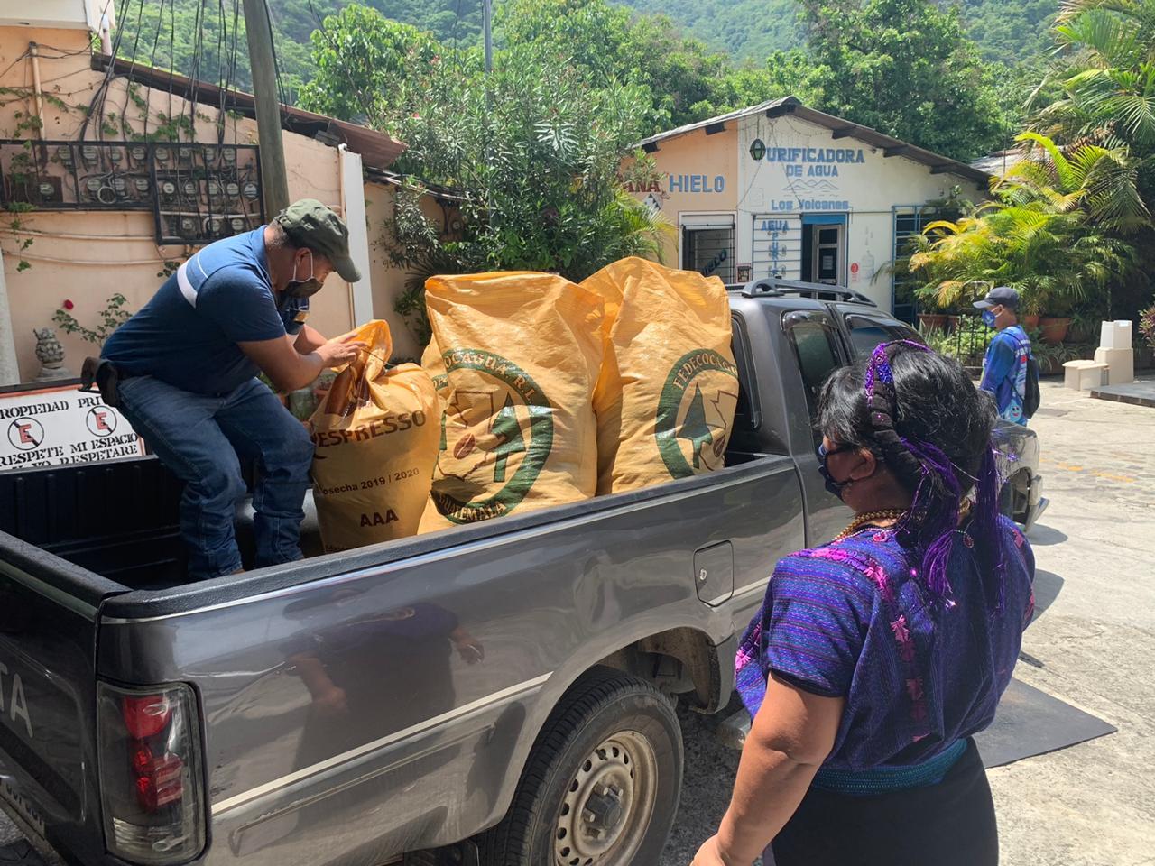 corona hulpactie Guatemala