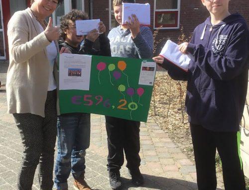 De kinderen van De Meerklank in actie voor het Schoolproject!