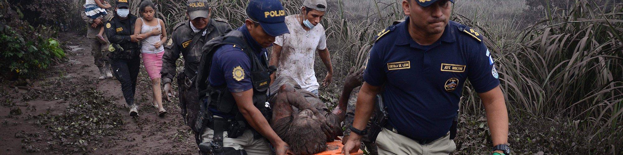 vulkaanuitbarsting Guatemala